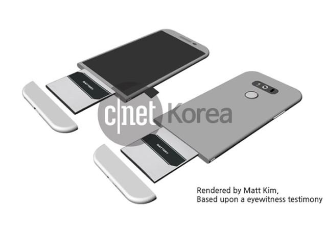 LG G5 : rendu 1