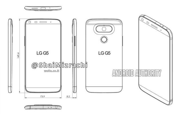 Schémas LG G5