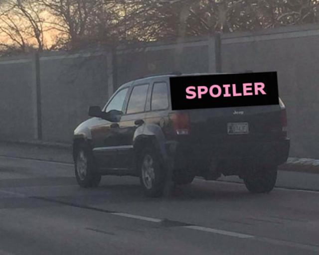 Spoiler Star Wars Episode VII