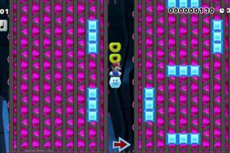 Une calculatrice dans Super Mario Maker