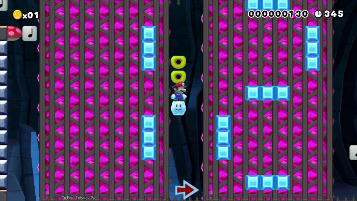 Une calculatrice dans Super Mario Maker