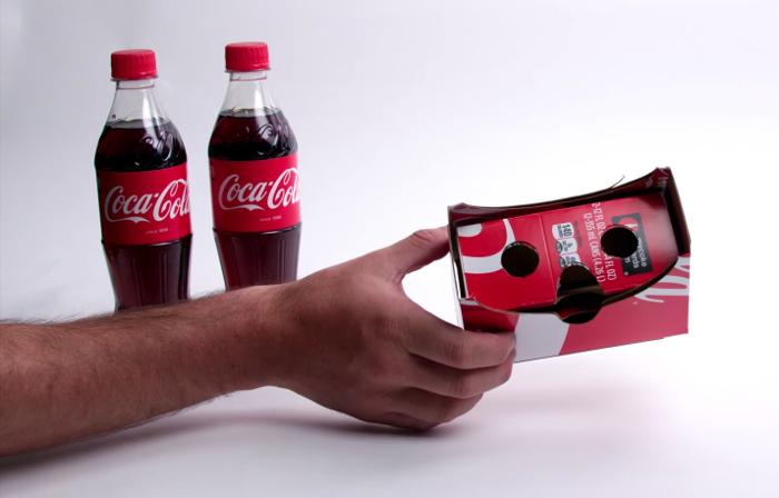 Coca-Cola et Google Cardboard
