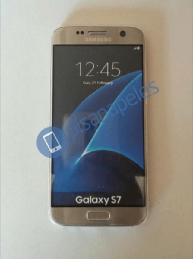 Photo Galaxy S7 Doré : image 2