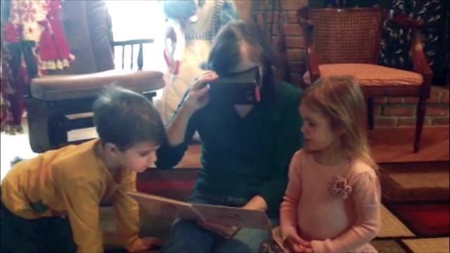 Elle retrouve la vue après huit ans grâce au Google Cardboard