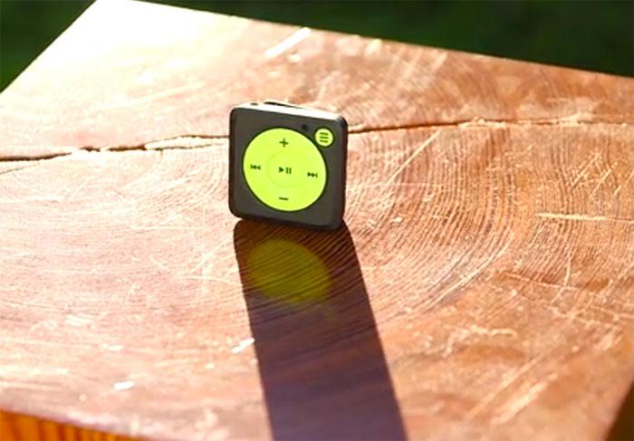 Tiens, un iPod Shuffle compatible avec Spotify !