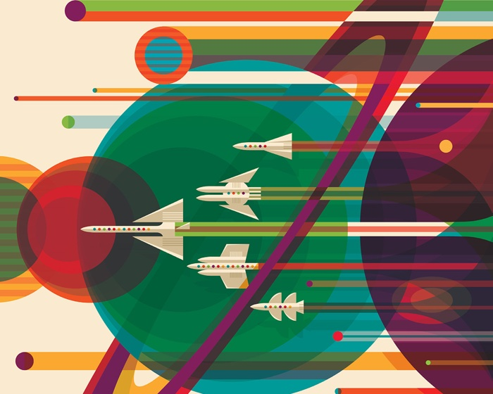 La NASA offre 14 posters rétro à imprimer !