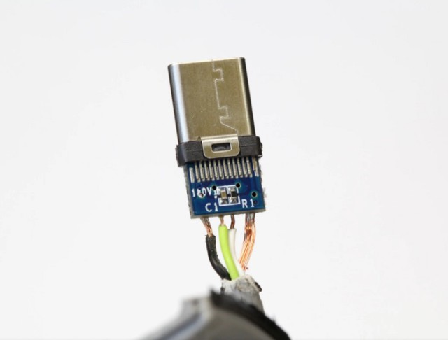 Câble USB Type-C pourri : image 1