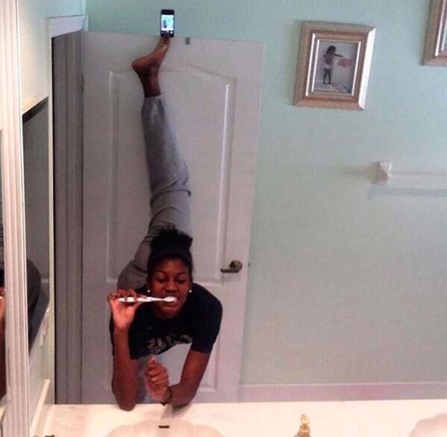 Selfie Bizarre 9