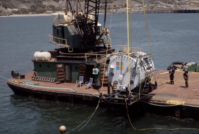 Serveurs sous marins Microsoft