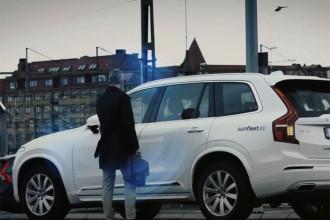 Clé électronique Volvo