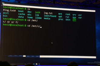 Bash dans Windows 10
