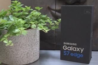 Déballage Galaxy S7 Edge : image 1