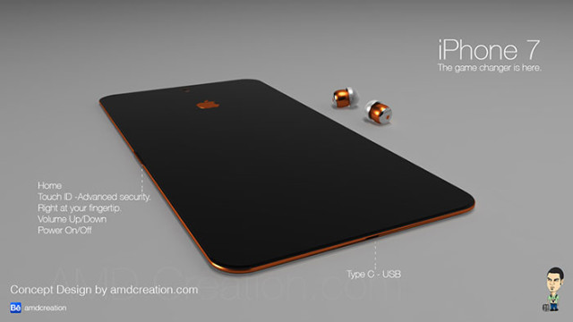 iPhone 7 orange : image 3