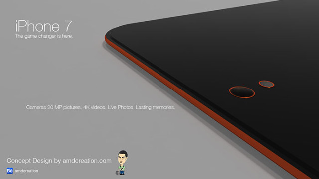 iPhone 7 orange : image 4