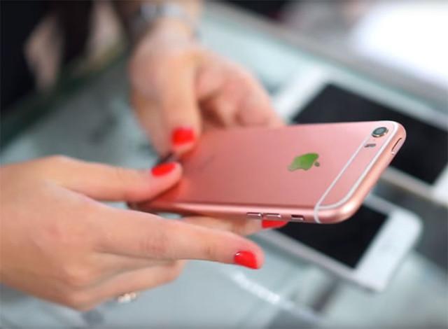 iPhone SE vidéo