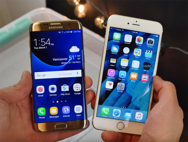 Résistance Galaxy S7 Edge