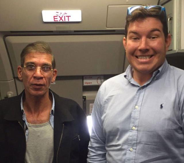 Making Of Selfie EgyptAir