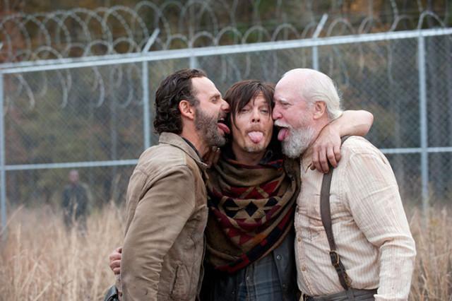 Selfie The Walking Dead 1