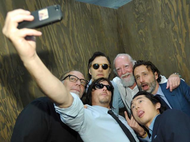 Selfie The Walking Dead 2