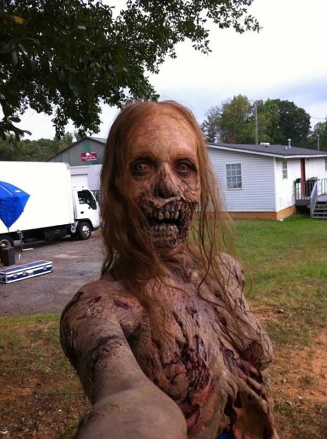 Selfie The Walking Dead 4