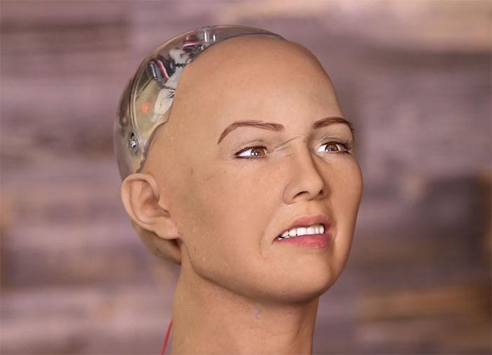 Voici Sophia, le robot qui veut détruire l'humanité