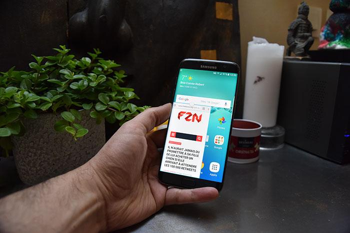 Test Galaxy S7 Edge 16