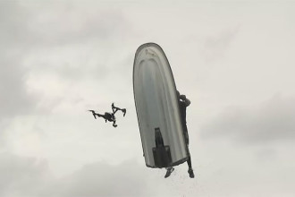 Vidéo drone jet-ski