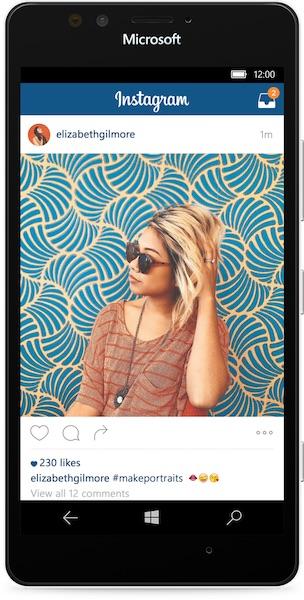 Instagram-Application-Windows-10-Mobile