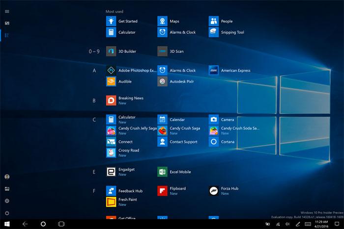 Démarrer Windows 10 2