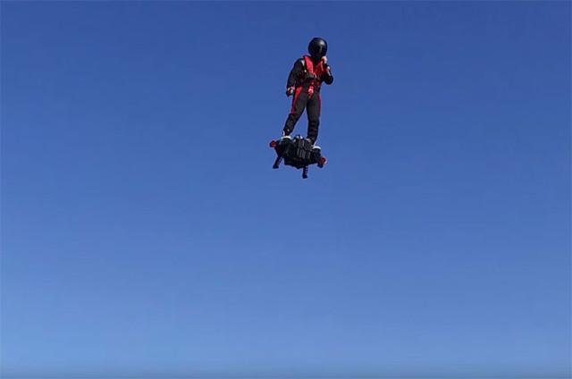 Oubliez le Hoverboard, il ne fait pas le poids face au... FlyBoard Air !