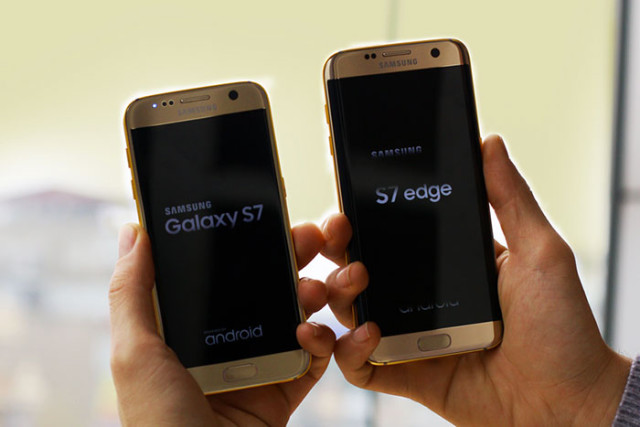 Samsung Galaxy S7 Gold : image 1