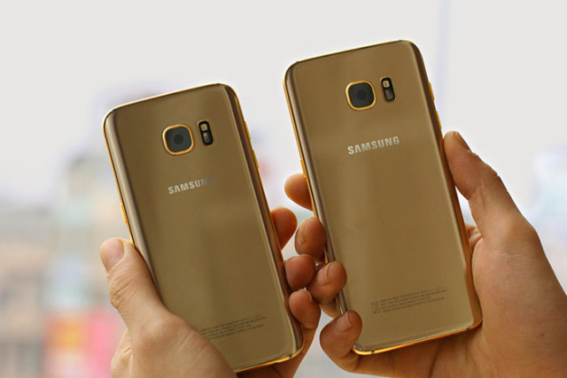 Samsung Galaxy S7 Gold : image 2