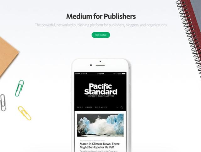 Medium for Publisher