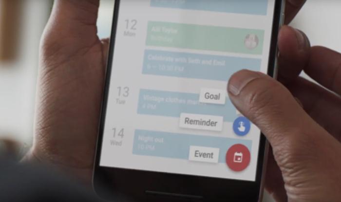 Définir un objectif dans Google Agenda