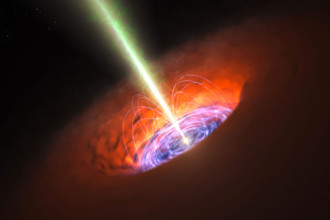 Alignement trous noirs