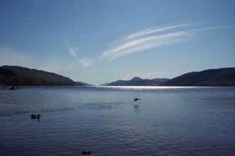 Vidéo monstre Loch Ness