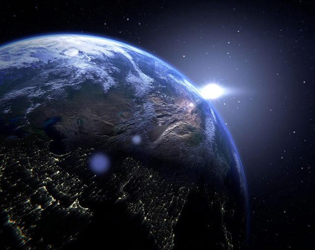 La couleur de la Terre pourrait nous aider à trouver des