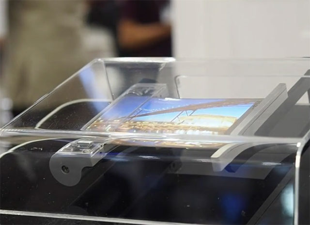 Ecran pliable Samsung