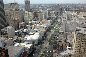 Affaissement Nouvelle-Orléans