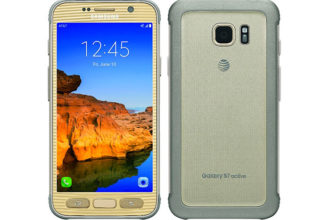 Rendu Galaxy S7 Active