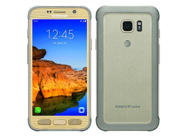 Rendu Galaxy S7 Active
