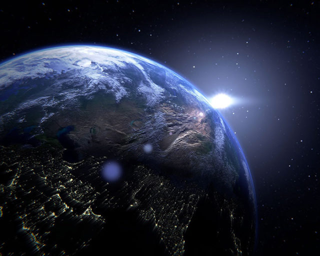 Simulation Terre