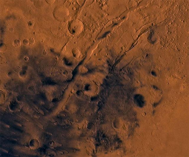 Tsunami Mars