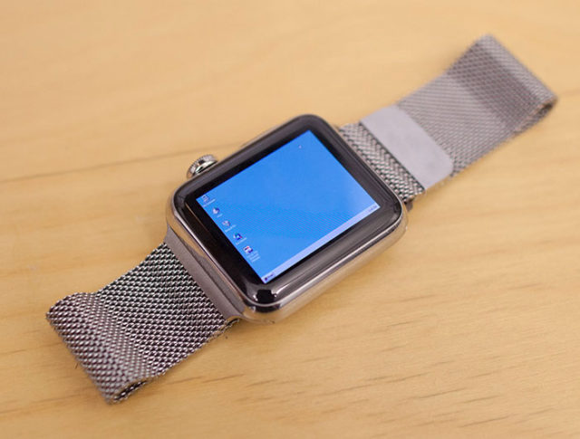 Windows 95 Apple Watch