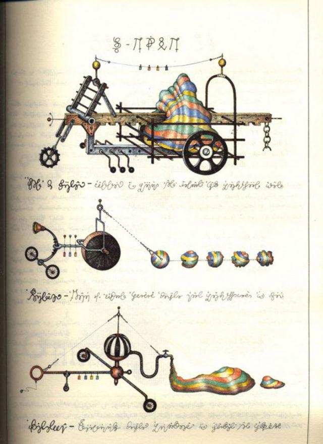 Codex Seraphinianus : image 9
