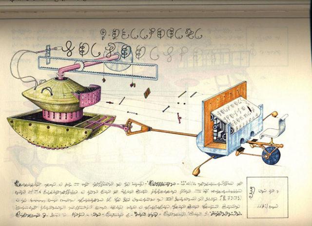 Codex Seraphinianus : image 10