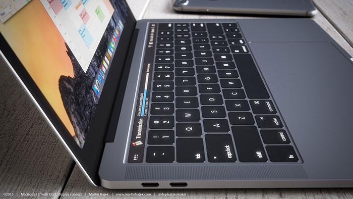 Macbook pro 2016 gris sidéral