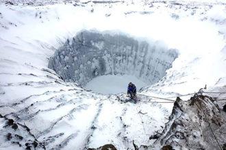 Cratères Sibérie