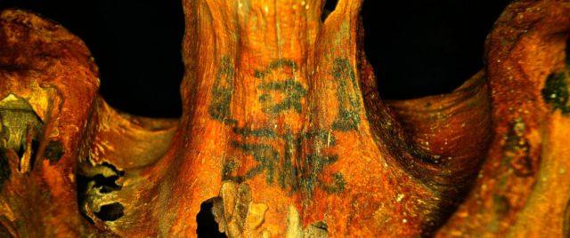 Tatouages momie égyptienne