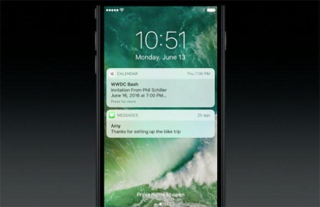 WWDC 2016 : iOS 10